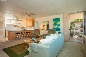 Unit #A302 at Haleakala Shores sold for $625,000 in 2015.