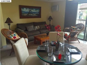Kihei Garden Estates Unit #A202 is a 2BR unit for $440,000.